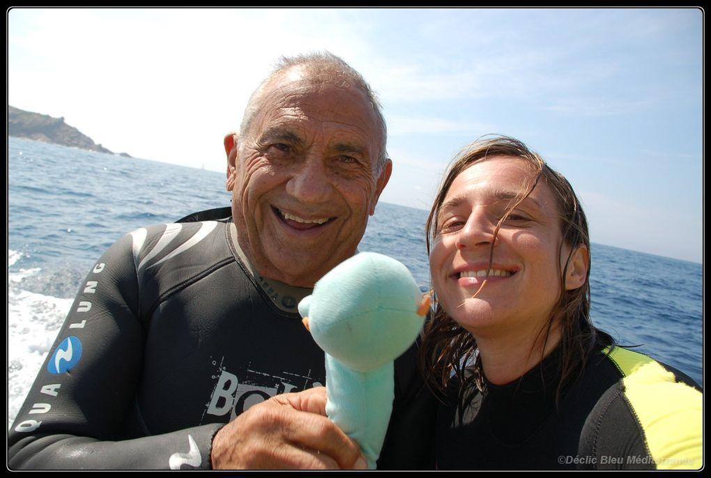 les photos de déclic bleu Méditerranée qui a eu la chance de partager quelques plongées avec un grand grand monsieur.