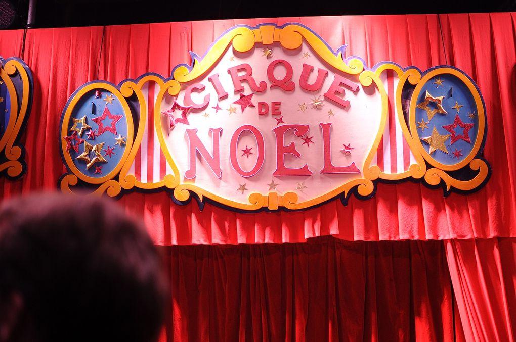 Événement organisé au Cirque de Noel Bouglione