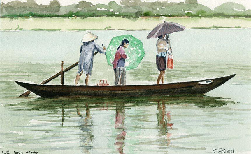 Album - Mes-Aquarelles-du-Vietnam