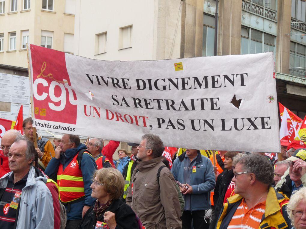 Une manifestation à Paris le 11 octobre 2012 pour une retraite digne.