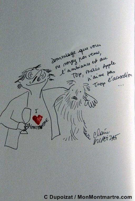 Mes meileurs portraits par mes amis de Montmartre