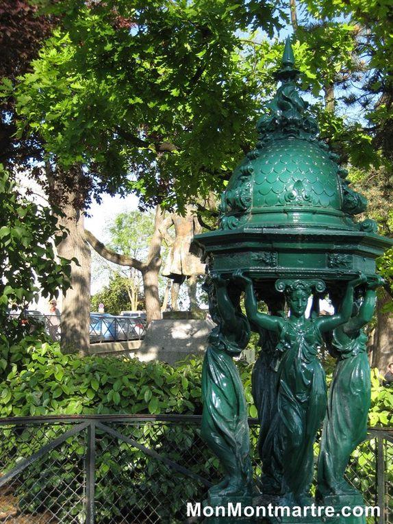 Les fontaines de MOntmartre