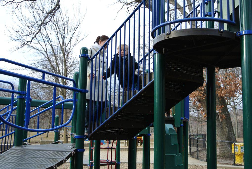 Promenade à East Rock Park le 4 Mars 2012