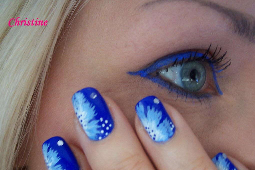 Un album sur les accords Nail art/maquillage