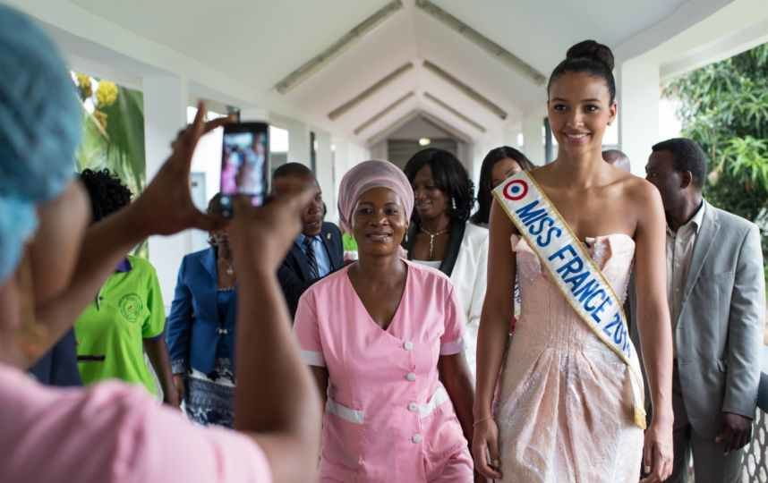Flora Coquerel, Miss France 2014 au Benin: 50 Photos