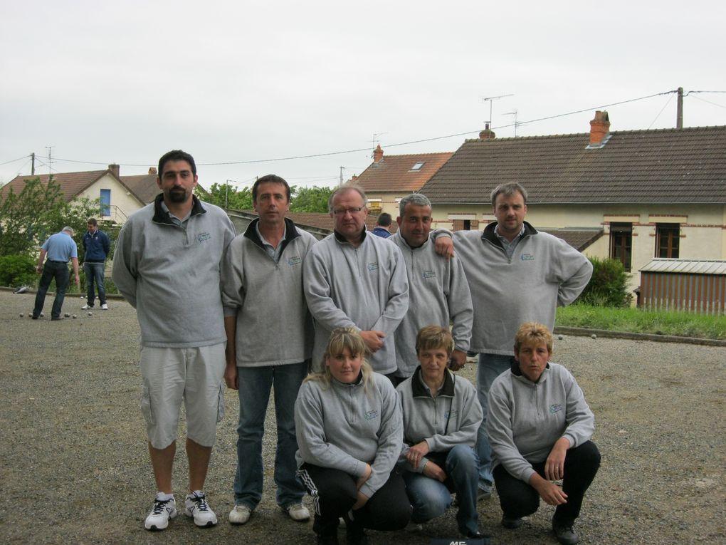 Champions Saône et Loire vétérans 3e Division
