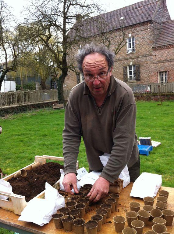 Visite de la ferme - mars 2012