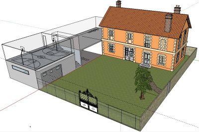 """Un coucours d'idées pour notre futur bâtiment proposé aux élèves de première année en formation """"aménagement"""" à L'ecole Polytechnique Universitaire de Tours"""
