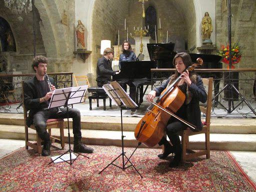 """Concert """"Jeunes Talents"""", église de Pierrerue (04), dimanche 2 novembre 2014.photos c&m Zbinden"""