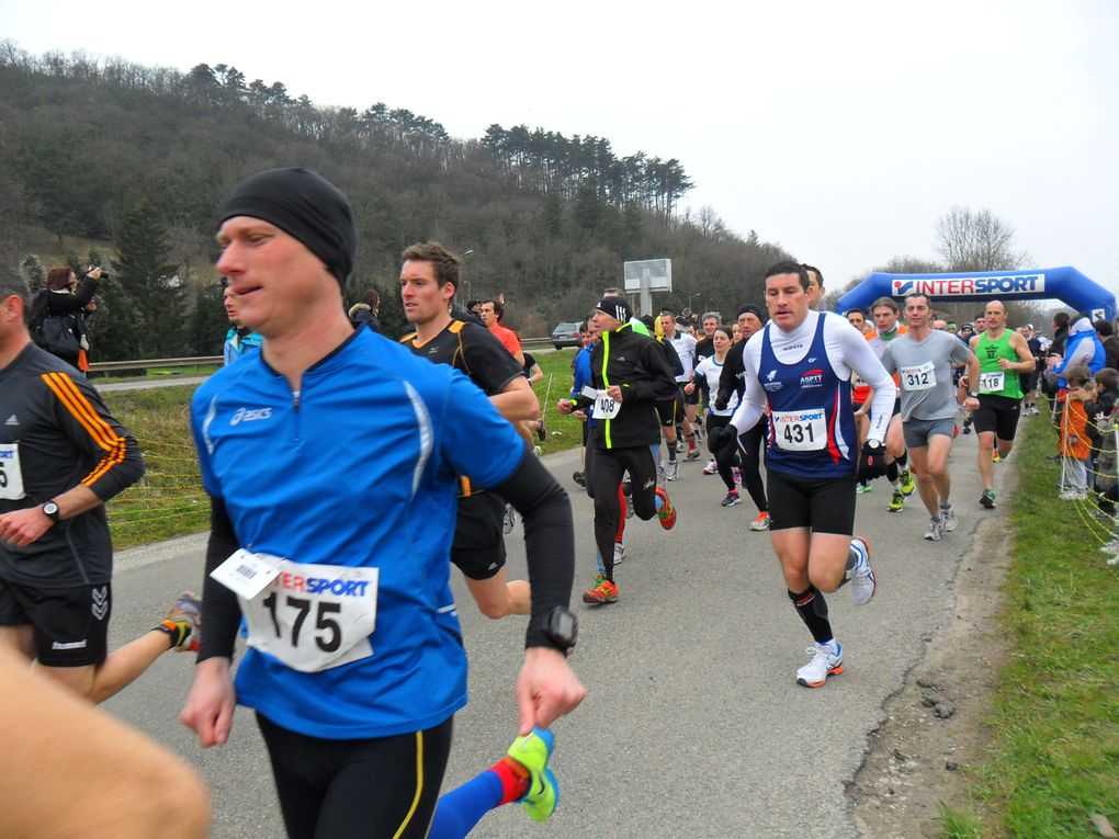 Album - 10 km des Rives du Doubs 07.04.13