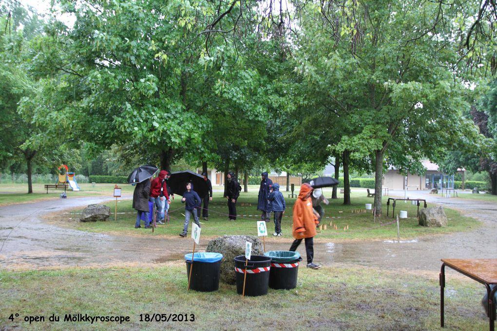 Notre 4° open du 18 mai 2013 sous la pluie