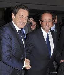 Photographies de personnalités politiques.