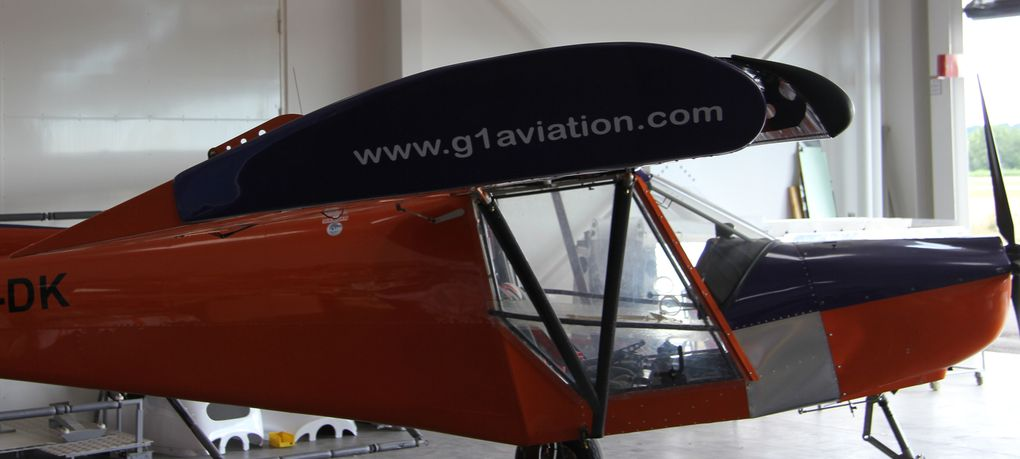 Quelques photos d'une visite fantastique des ateliers de G1 Aviation à Avignon.