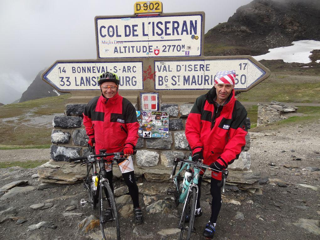 Tréversé des Alpes de Léman à la Meditéranée à vélo