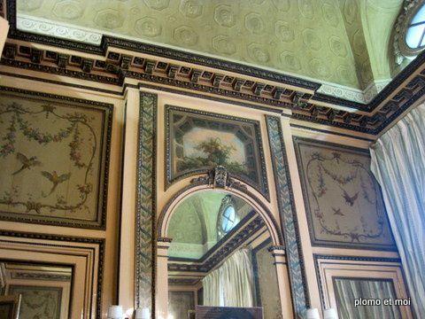 visite de l'hôtel de Crillon avant la vente de son mobilier