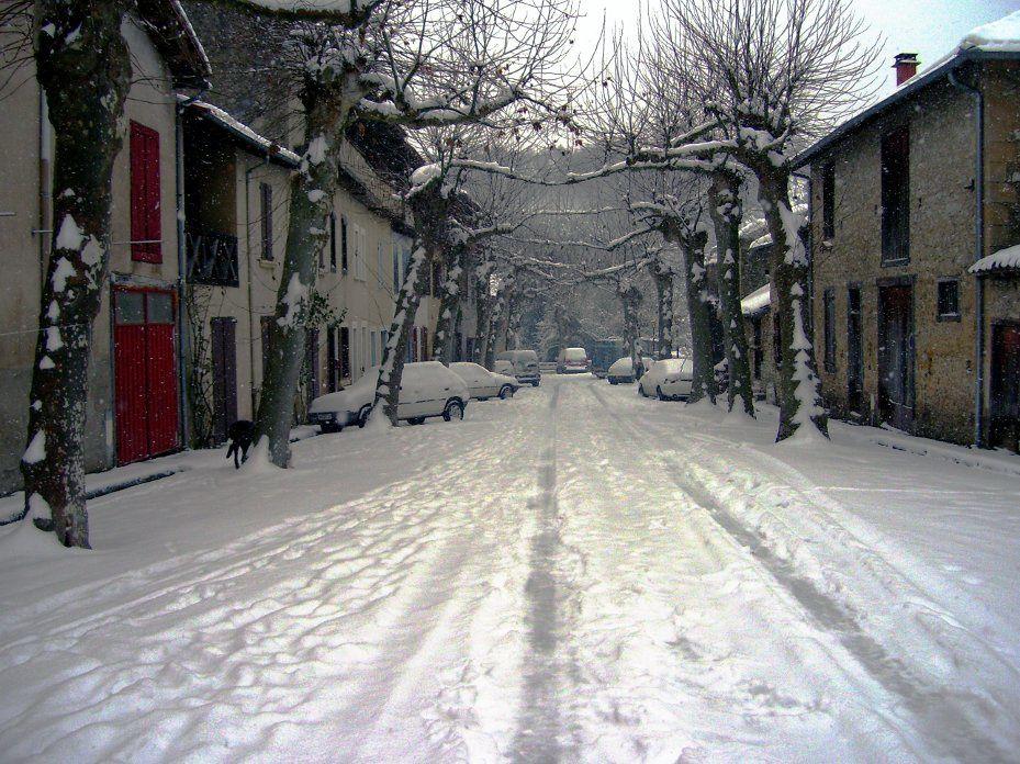 Album Photos - Montbrun sous la neige