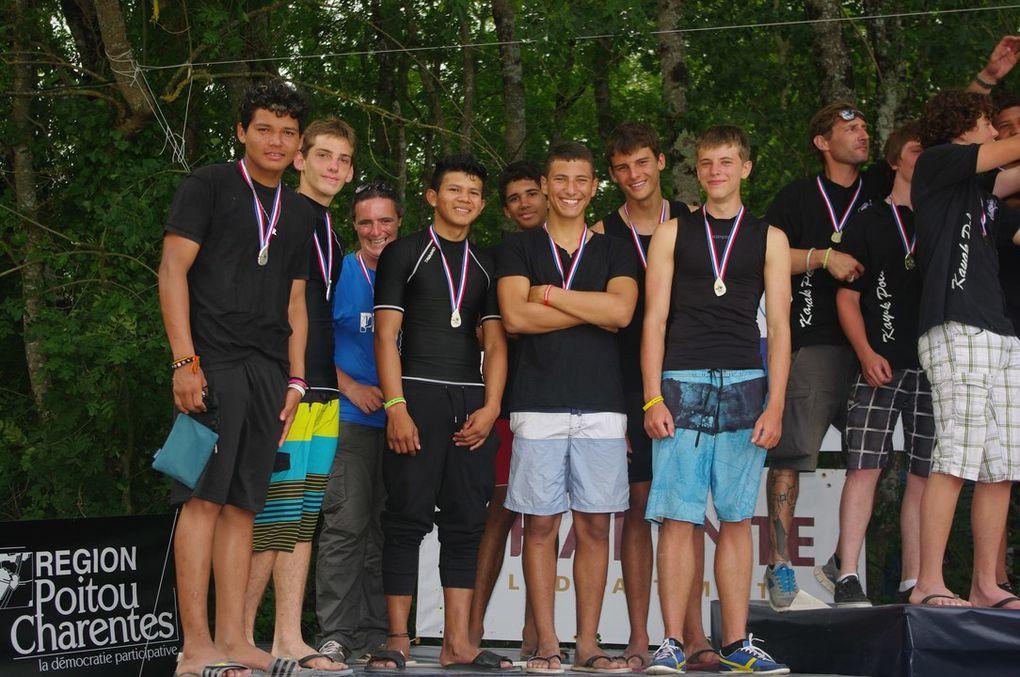 L'équipe de Guyane VICE - CHAMPIONNE DE FRANCE cadet!!!