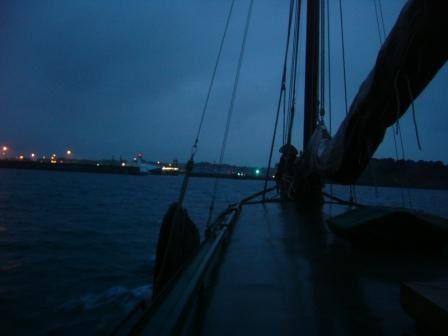 Le convoyage de Boulogne jusqu'à Saint-Malo