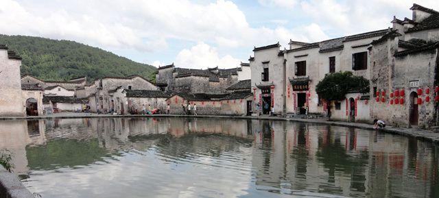 l'Anhui, province connue pour les Montagnes Jaunes, coeur du Huizhou &#x3B; de nombreux villages anciens méritent une grande attention.