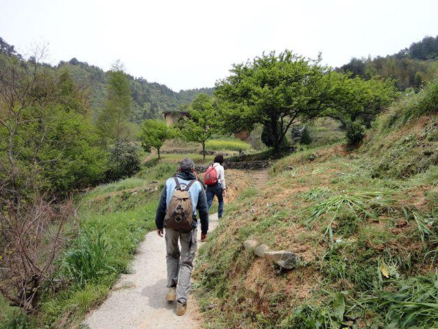 quelques séjours dans l'Anhui, randonnées et treks sur un ou deux jours