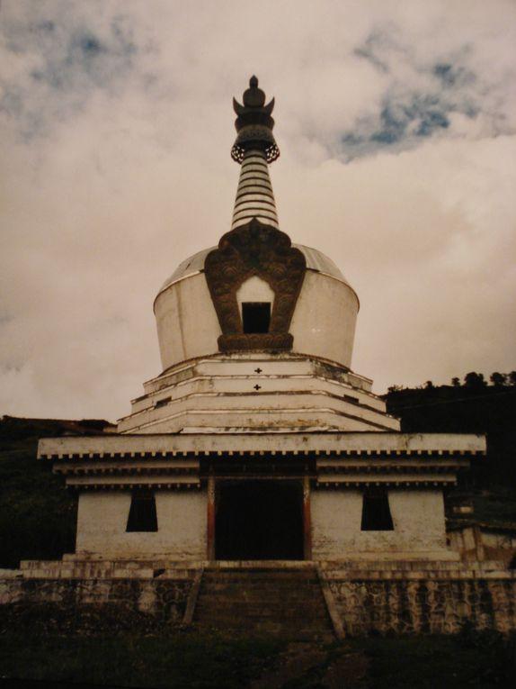 le Gansu, xiahe, songpan... quelques lieux à part... photos de 1999
