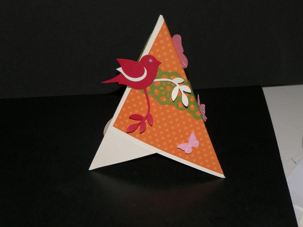Voici toutes mes créations de cartes confectionnées en 2012 avec les produits Stampin'Up!