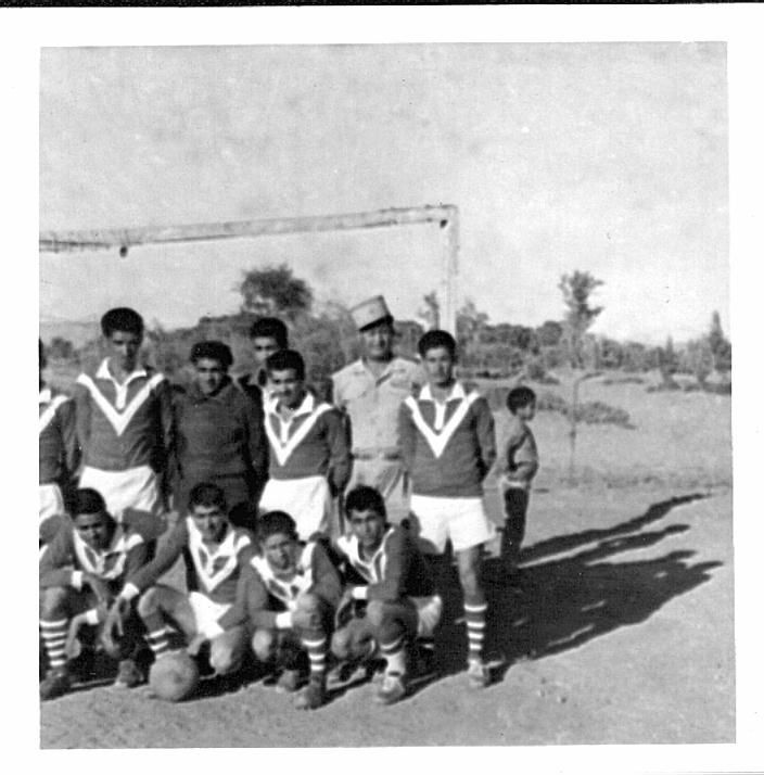 Le foot à Laghouat en photos 70ans