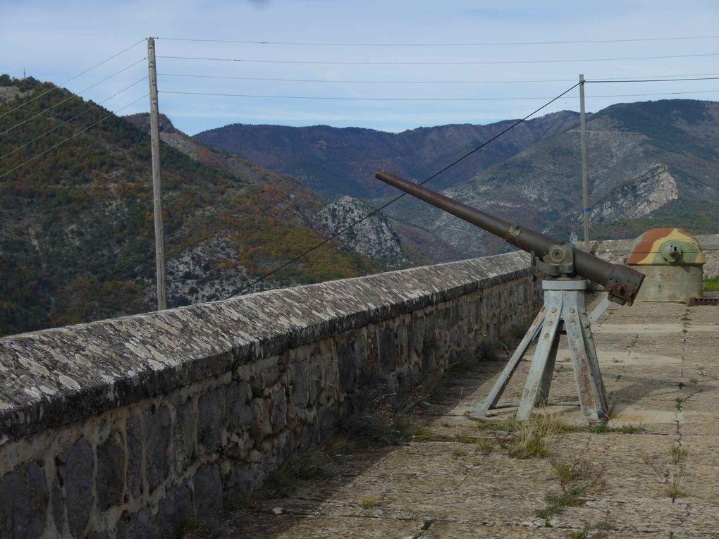 Un fort du XIXème siècle doublé d'un ouvrage Maginot au XXème.