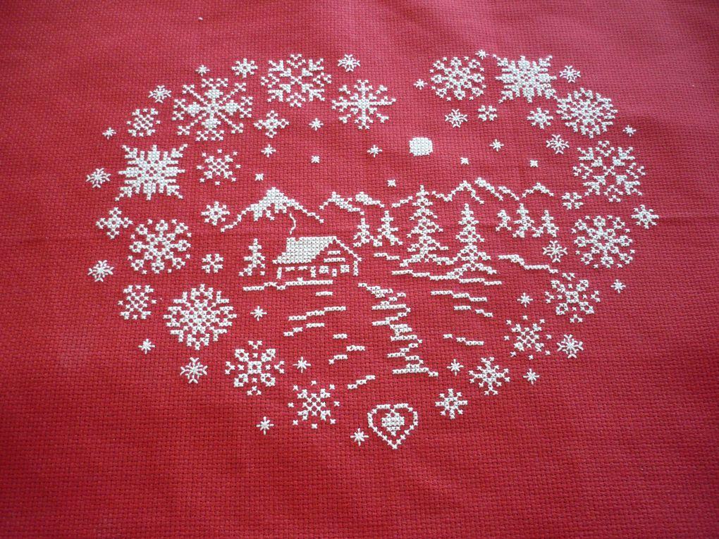 les couleurs traditionnelles de Noël pour regrouper toute la déco pour cette grande fête.