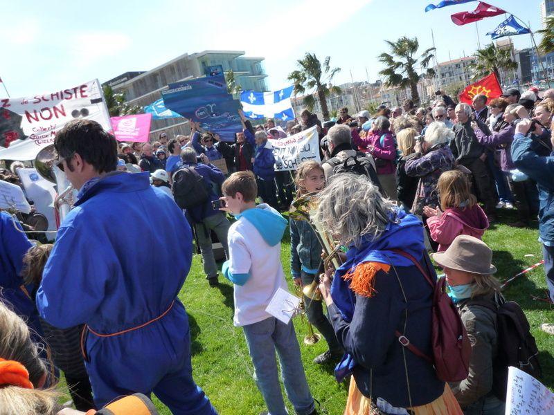 Trafalgar du gaz de schiste le 8 avril 2012
