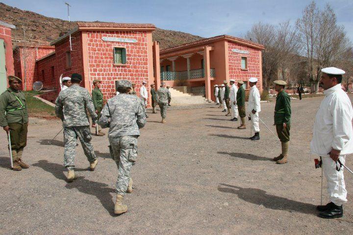 1er-Bataillon-de-ski-des-Forces-armees-royale-marocaine.CIHM :( Centre d'Instruction de Haute Montagne )