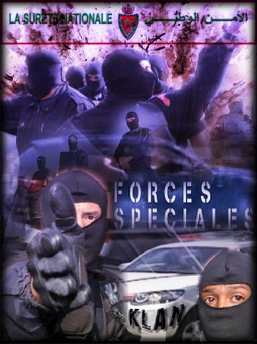 Creations d'affiches autour des forces armées royales