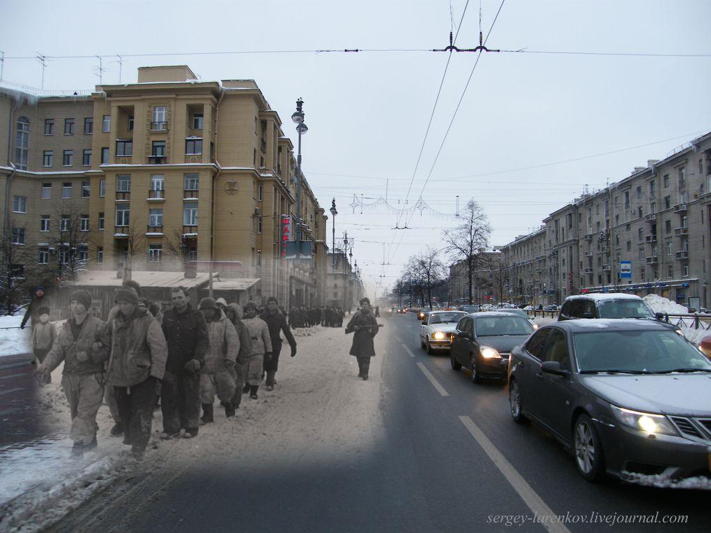 Quand le passé se mélange au présent voilà les belles images que cela donne. Tout se passe en URSS sur une idée de Sergey LARENGOV.