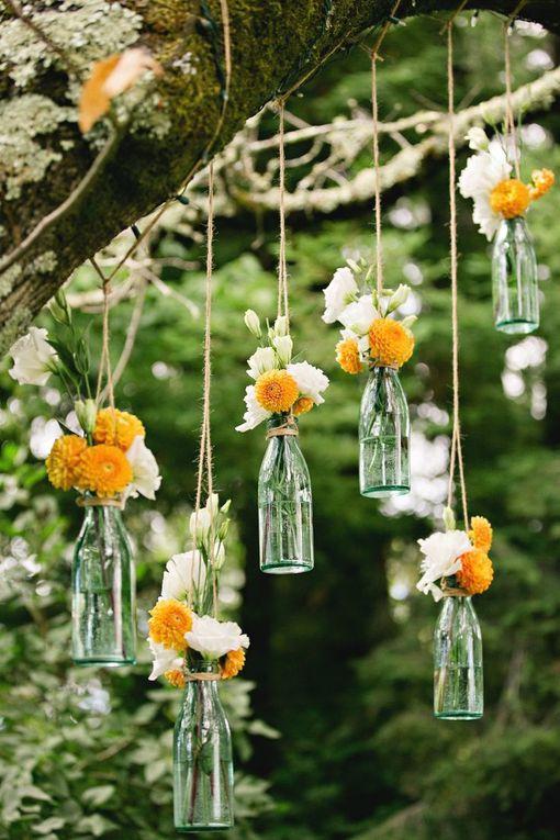 Des idées sur le thème champêtre, faciles à réaliser et pas chères, pour les adeptes du DIY