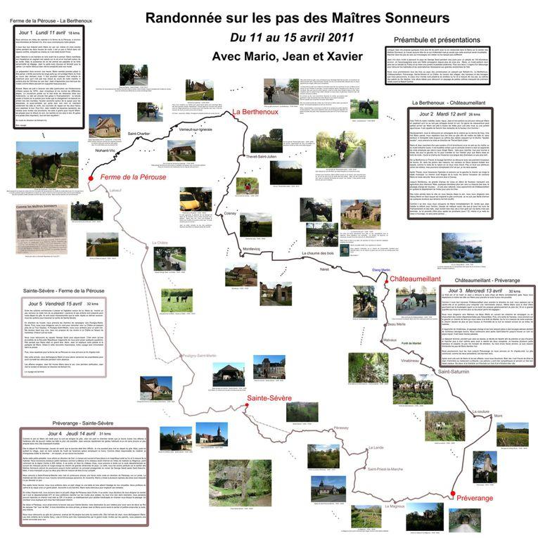 Le tour du Loir- et- Cher.Pour découvrir à pied les richesses des 2 grandes vallées.