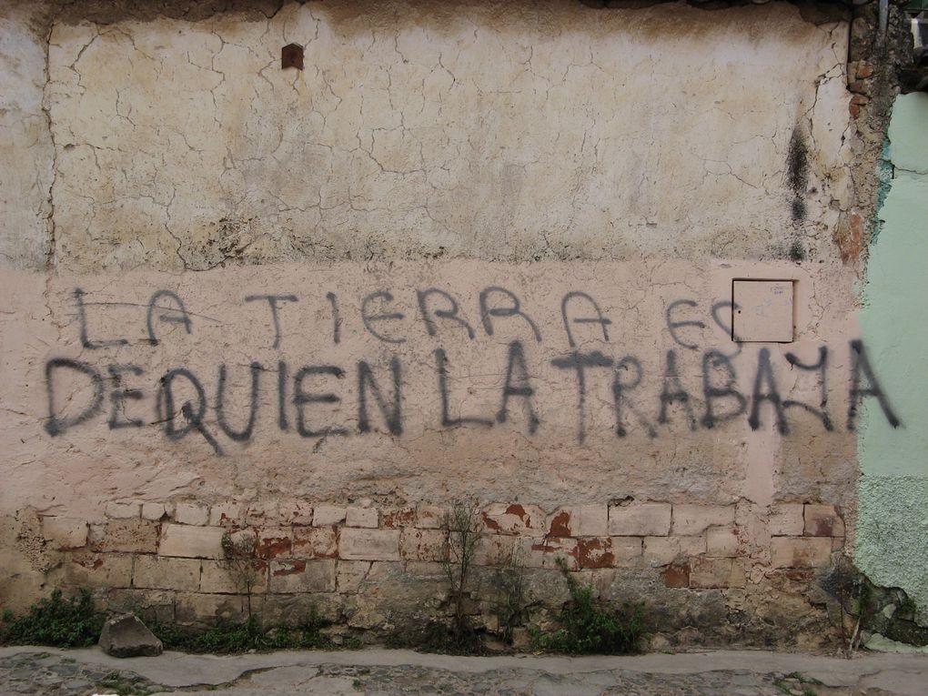 Album - Les murs de San Cristobal de las Casas au Chiapas