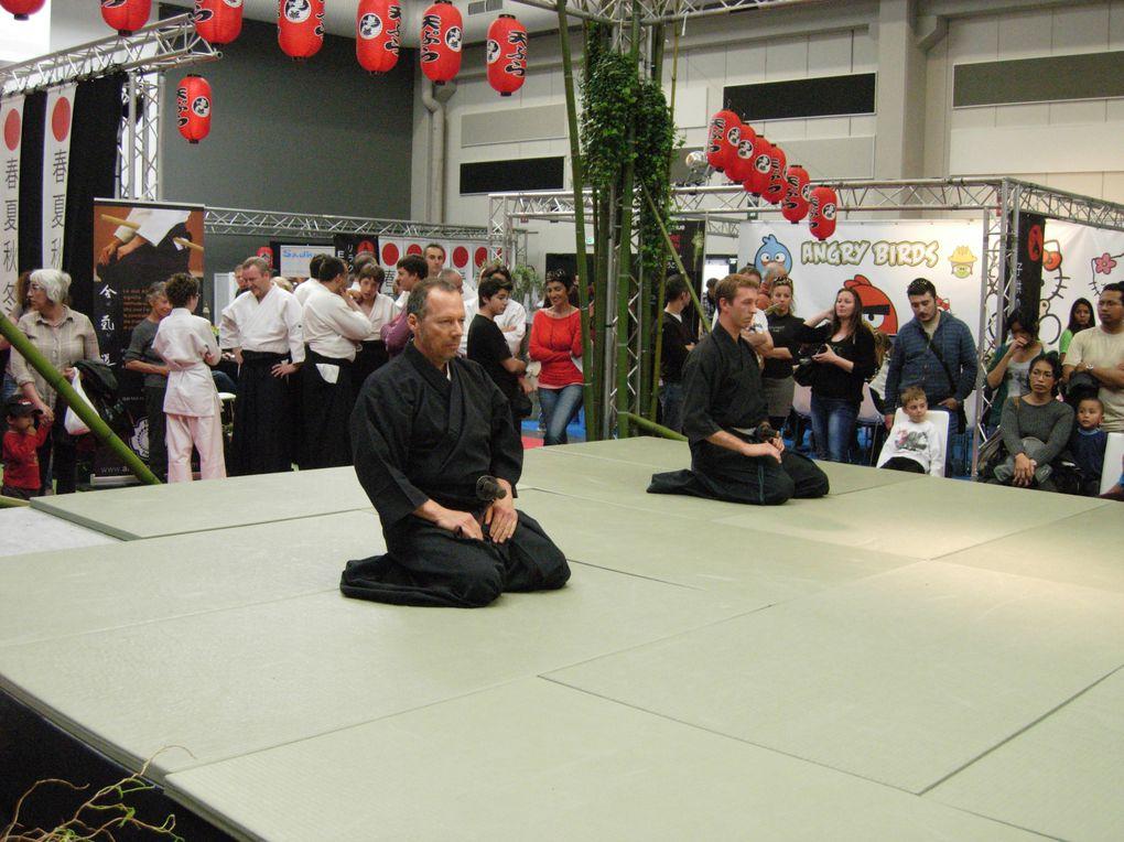 Démonstration d'Aïkido , les club d'orange, Villeneuve les Avignon et Aïkido Thorois