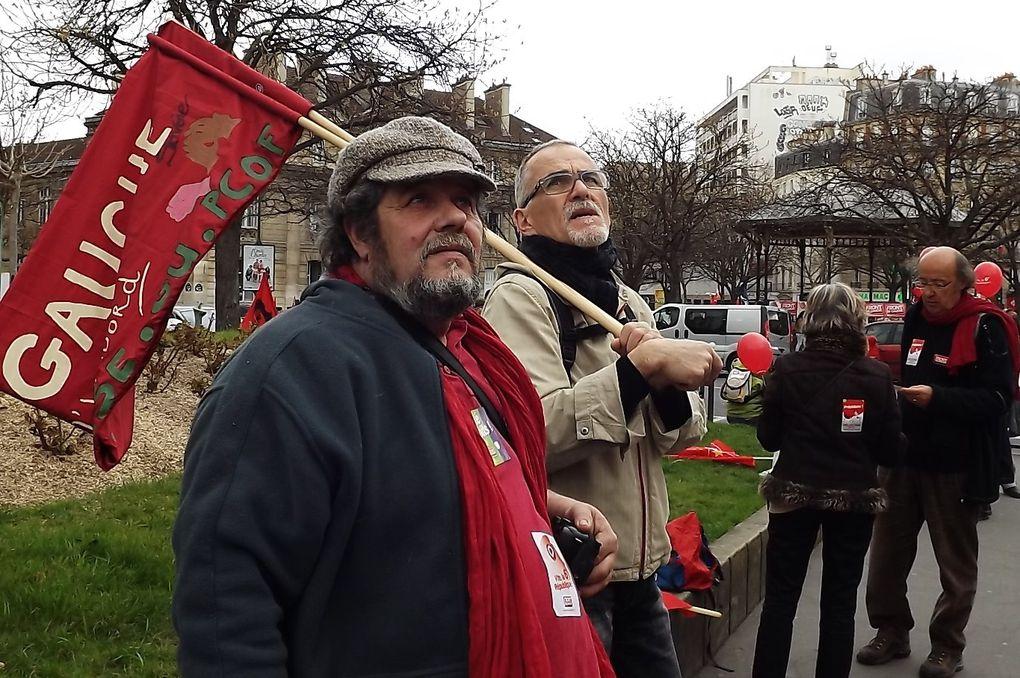 Paris la Bastille 18 Mars 2012120 000 personnes