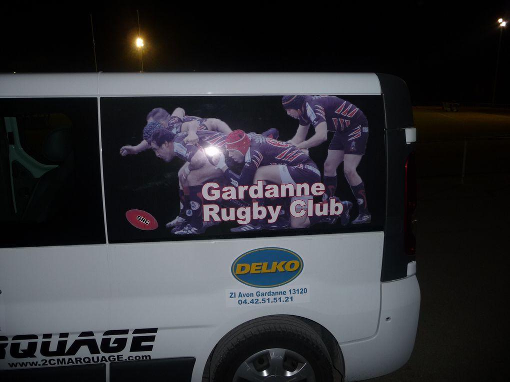 Minibus du Gardanne Rugby Club
