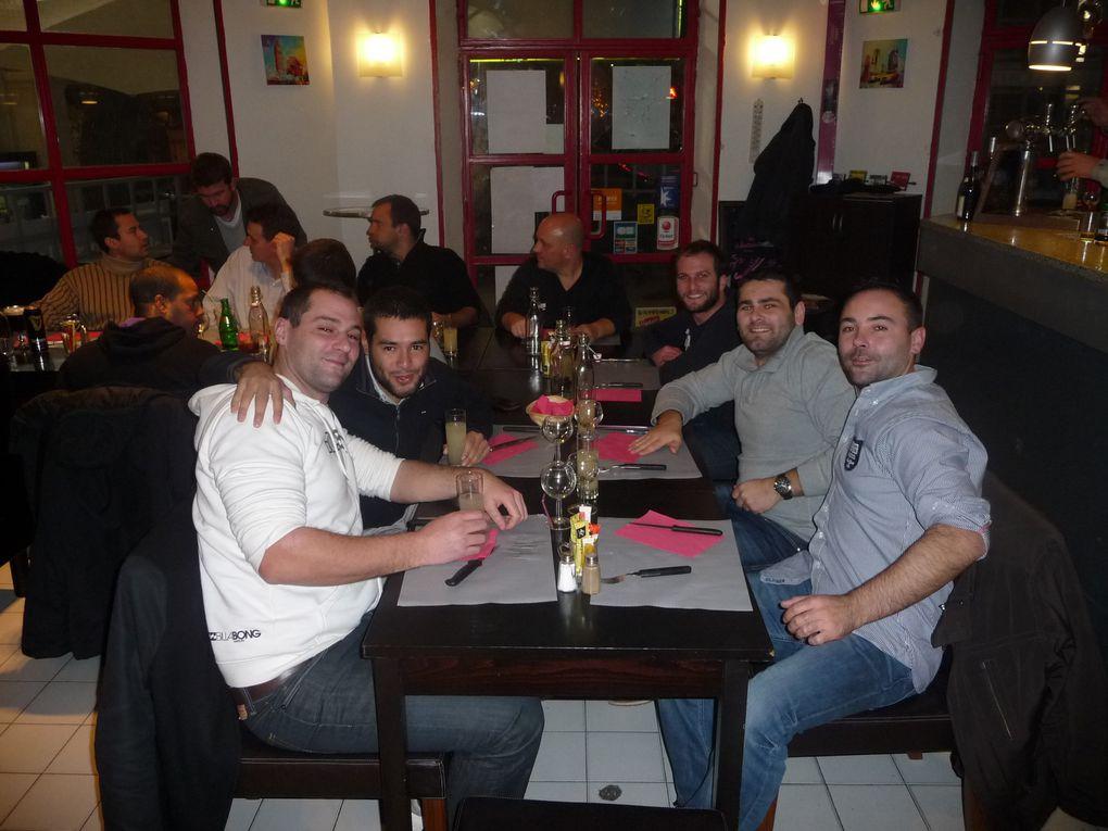 """Soirée de fin d'année 2012 au """" 3 Casino """" de Gardanne. Soirée Irlandaise, bière à volonté.... Belle soirée !"""