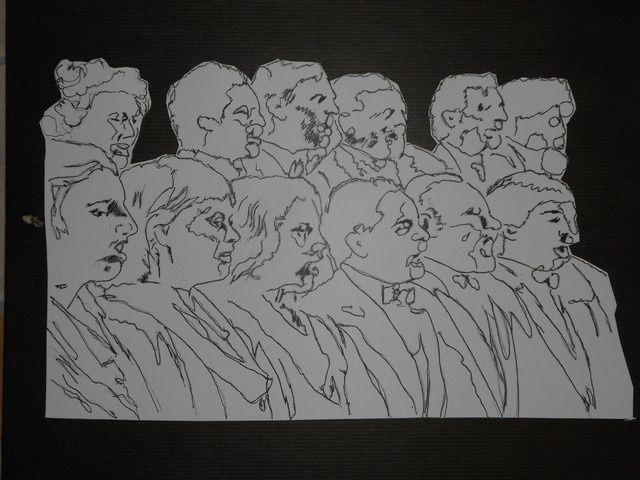 série de petits tableaux en l'Honneur  de l'Europe