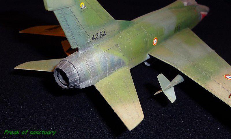 Un kit terminé en 2003, issu du reboitage de l'ancienne maquette Esci.