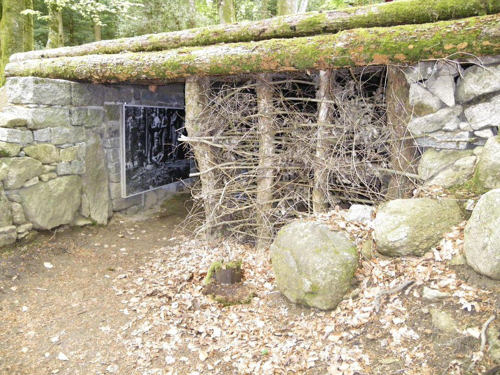 Lieu de mémoire dédié au premier maquis Creusois et à ses morts ( tous très jeunes ), dans un site naturel préservé et authentique.