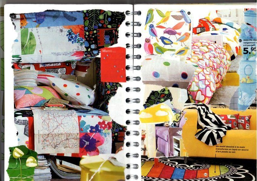 un carnet d'inspiration, de note, de dessin, un album photo, un journal ... c'est un peu tout ça mon smashbook