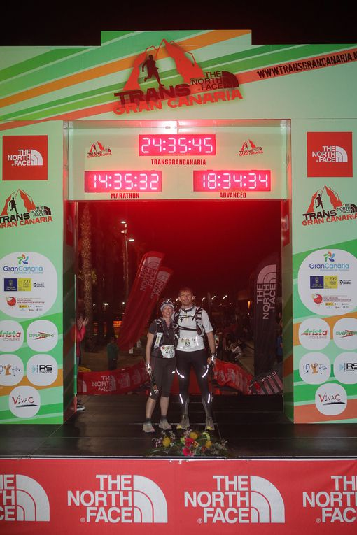 ultra trail 119 km aux Canaries le 1er mars 2013