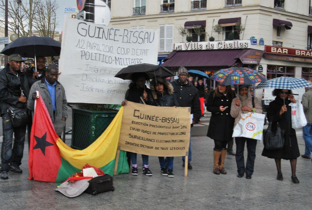 Le Collectif Guinée-Bissau à Paris