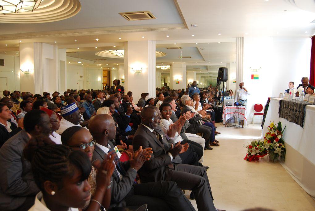 Aux Salons Wilson - 139 Ave du Président Wilson à la Plaine St Denis Invités du Premier Ministre Carlos Gomes :Mr DJALO PIRES, Ministre Affaires Extrangères Guinée-BissauMr DJOLA NDJAI, Secretaire Executif de FRENAGOLPE, Guinée-Bisdsau