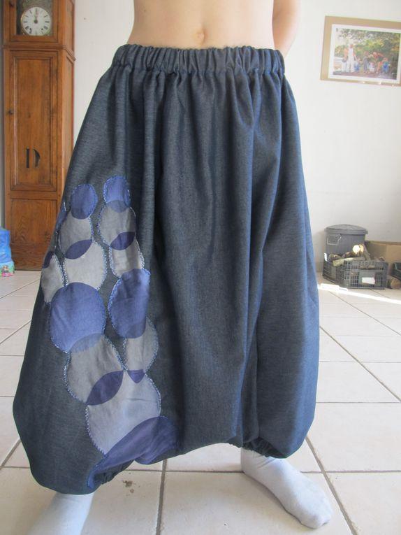 sarouel+ robe a nouettes