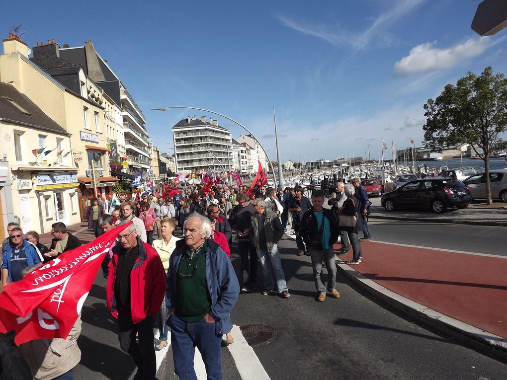 Manifestation pour refuser la logique permanente des soit-disant réformes des retraites et réussie !
