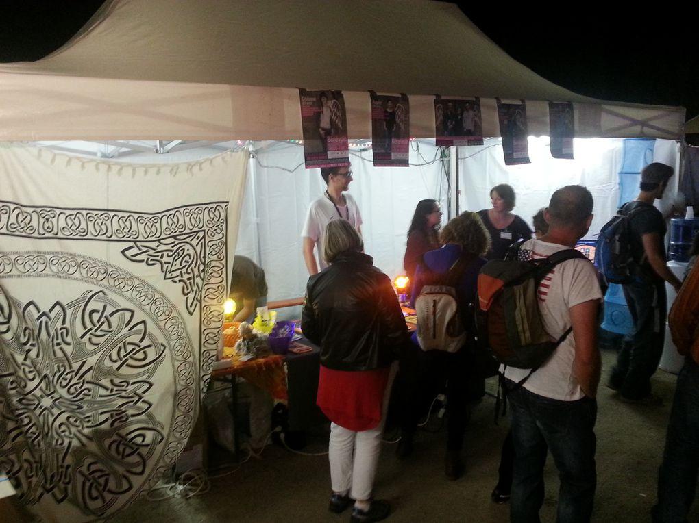 Le Collectif était présent au Festival de la Paille - Edition 2014 !
